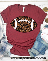 Leopard Football Shirt / It's GameDay Football Leopard Print Shirt / Cheetah Print Bella Canvas / Football Shirt / Football Mom