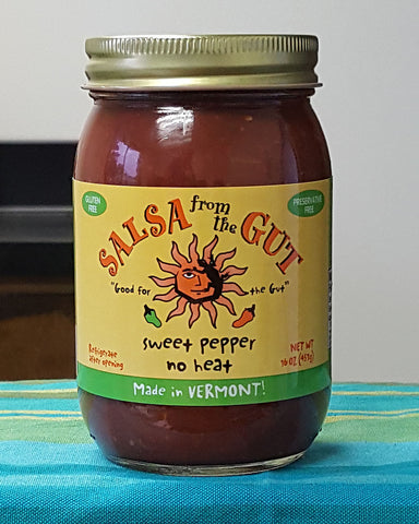 Sweet Pepper Salsa - No Heat