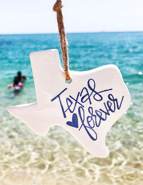Texas Ornament - Summer at the Beach