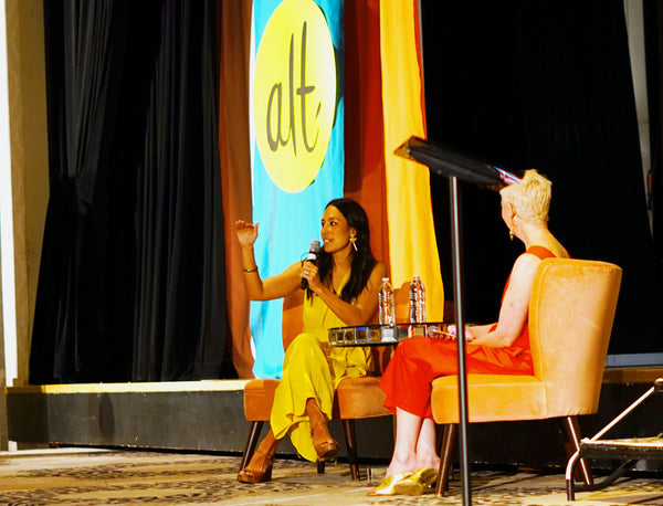 Joanna Gaines speaking at Alt Summit
