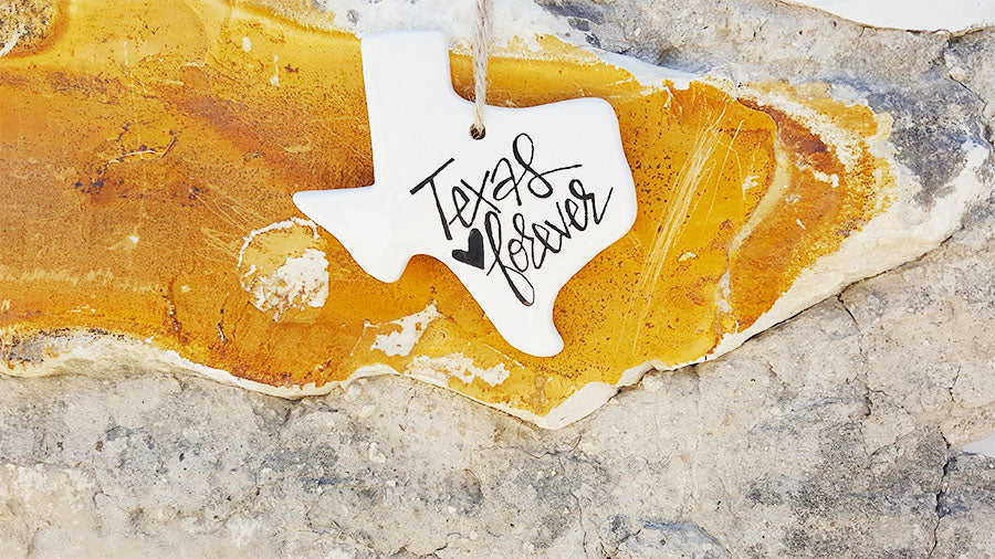 Texas Ceramic Ornament at Mount Sodom