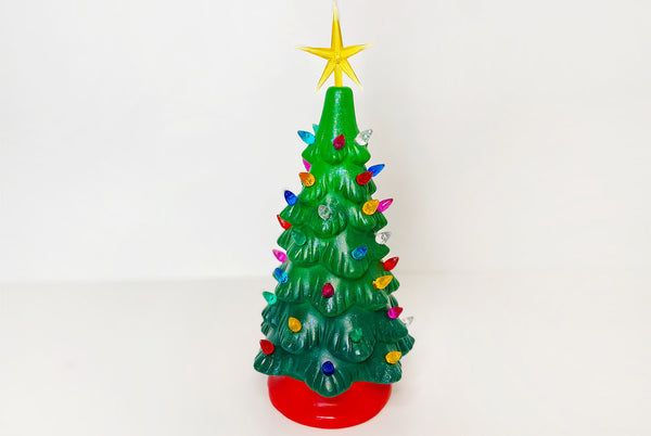 "DIY Lighted Christmas Tree Kit (11"" in)"