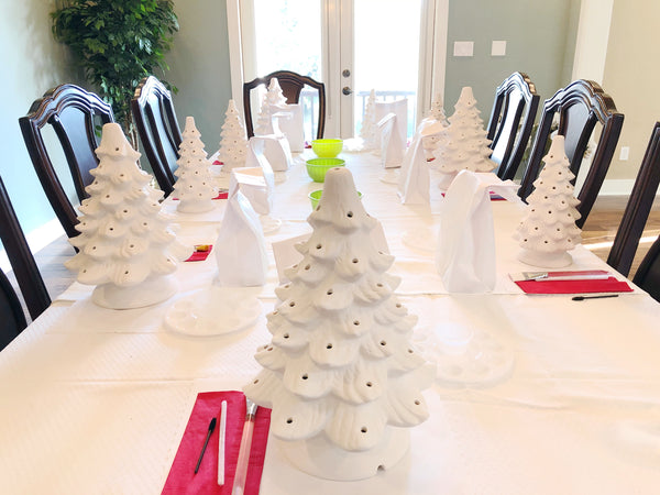 PRIVATE PARTY -  Vintage Christmas Tree Workshop
