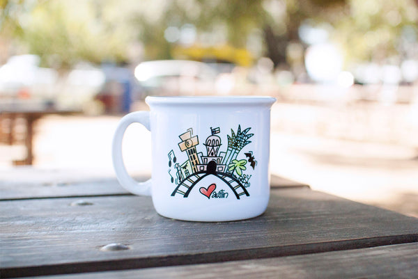 Custom - Austin Skyline Camper Coffee Mug