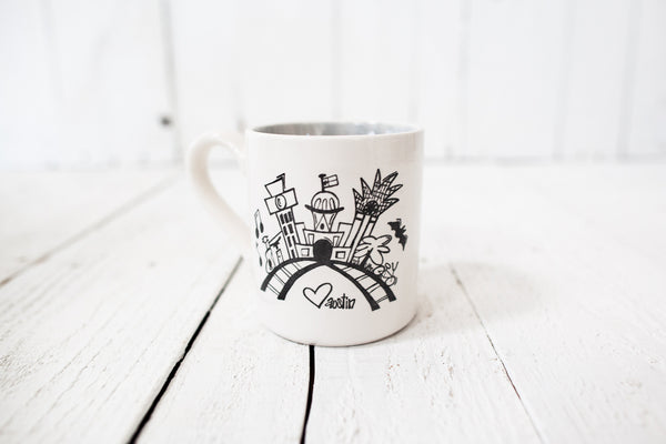 Austin Skyline Coffee Mug