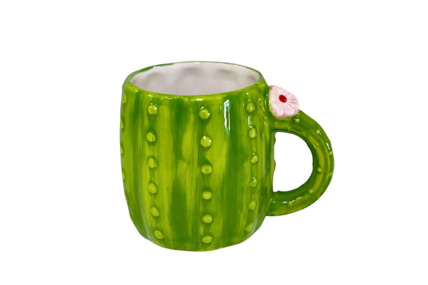 Cactus Coffee Mug - Green