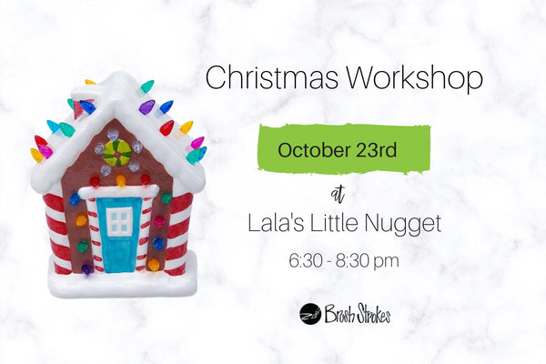 October 23 - Lala's Little Nugget - Vintage Christmas Tree Workshop
