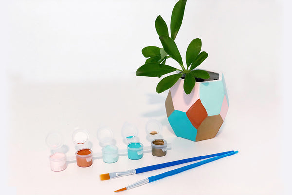 Paint Your Small Prism Planter- TO GO Kit