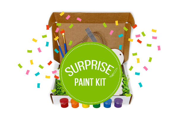 Surprise Holiday Ornament Paint Kit