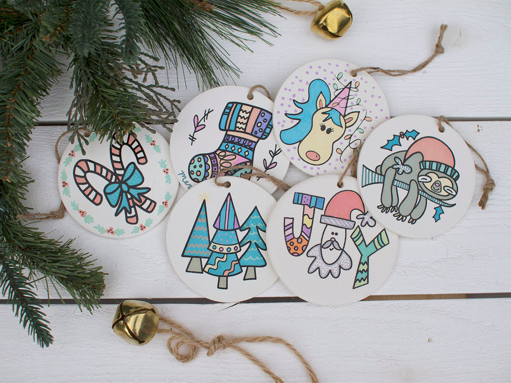 DIY Ornament Coloring Kit