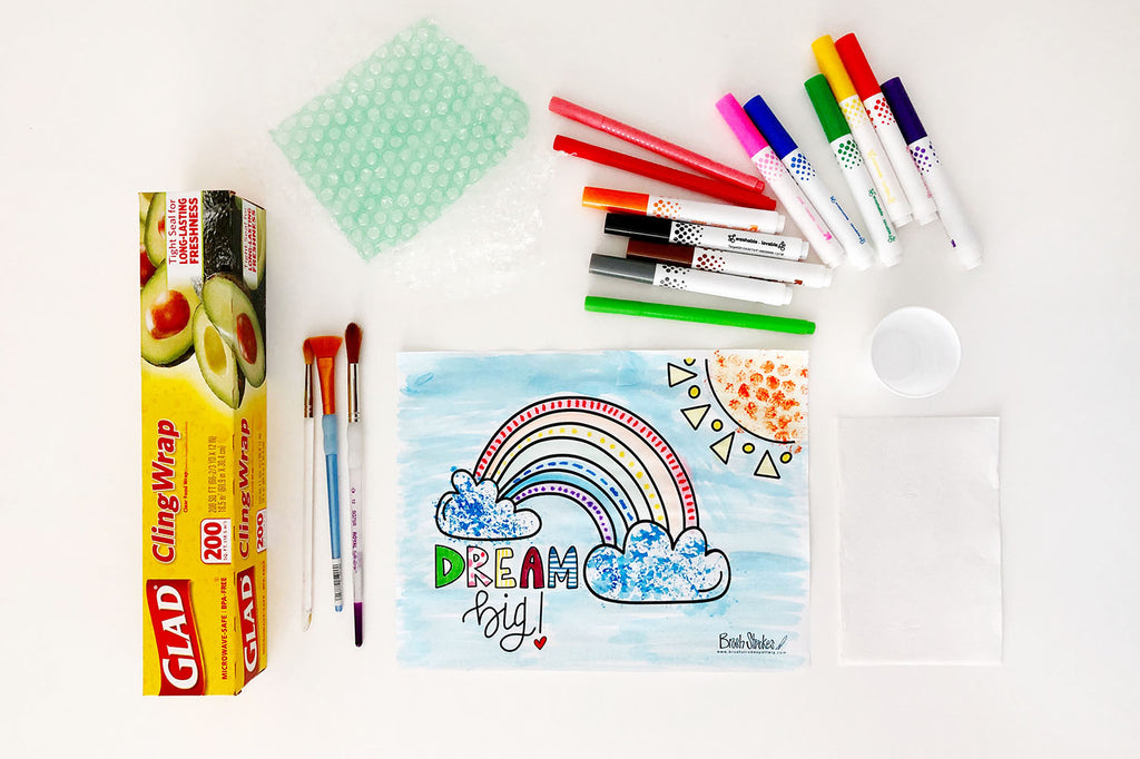 "Virtual Kids Coloring Workshop - ""Dream Big"" Rainbow"