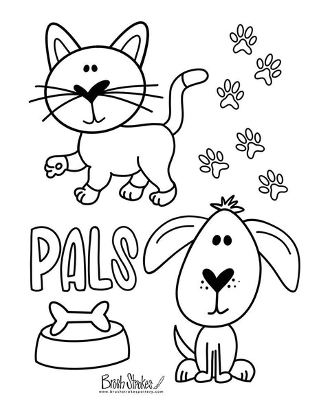 Animals Coloring Activity Bundle