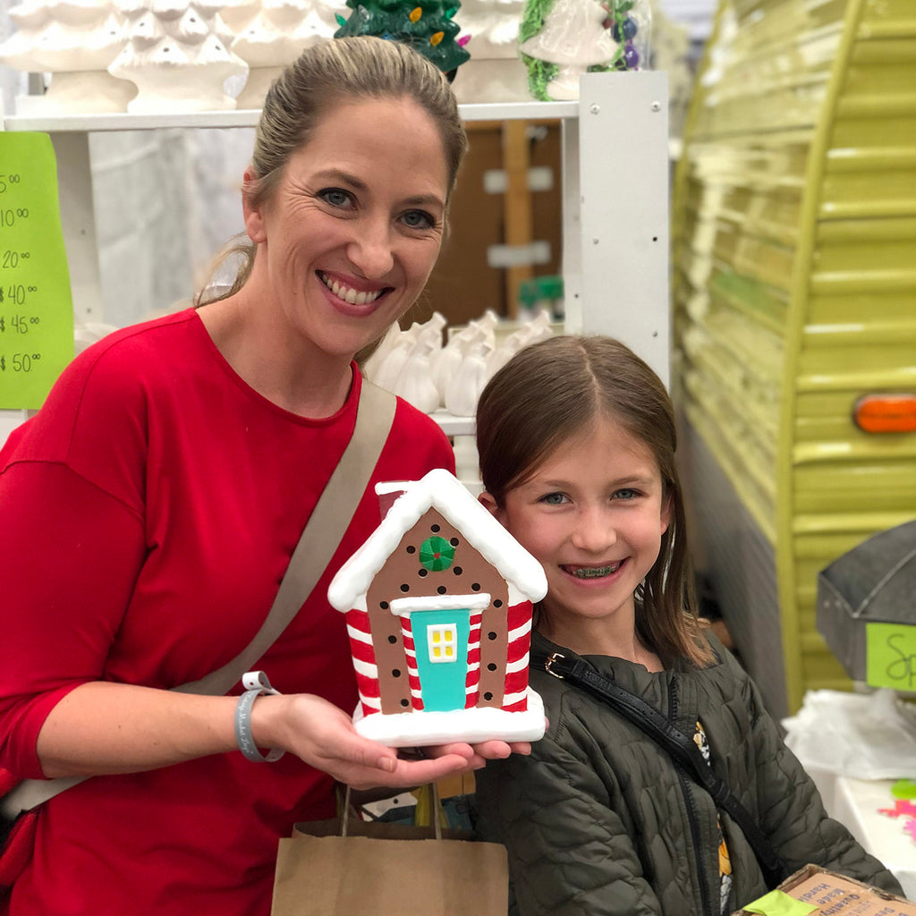 DIY Lighted Gingerbread House