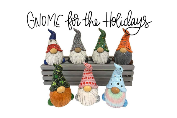 December 9 - Gnome for the Holidays Paint Workshop - The Wayback Cafe