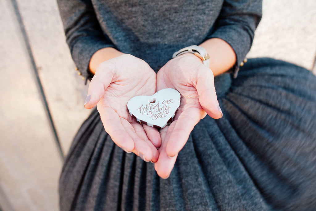 Harper Hearts: Ceramic Prayer Heart