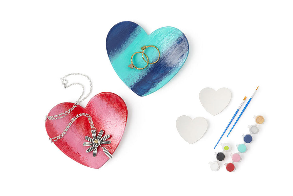 Ceramic Jewelry Dish Paint Kit