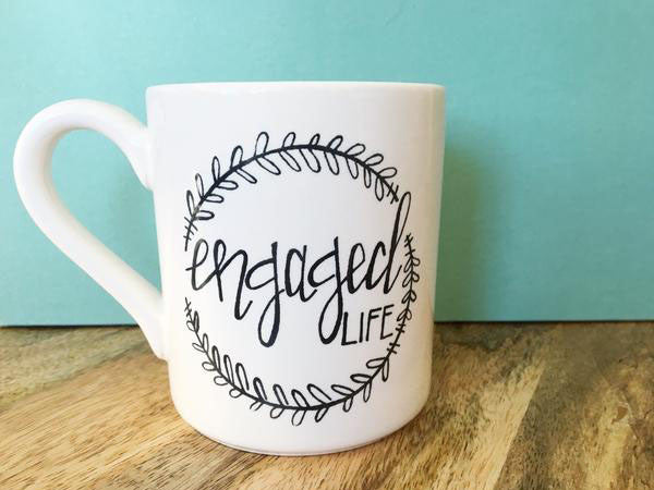 Engaged Life Coffee Mug