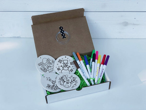 DIY Ornament Coloring Kit - JOY Design