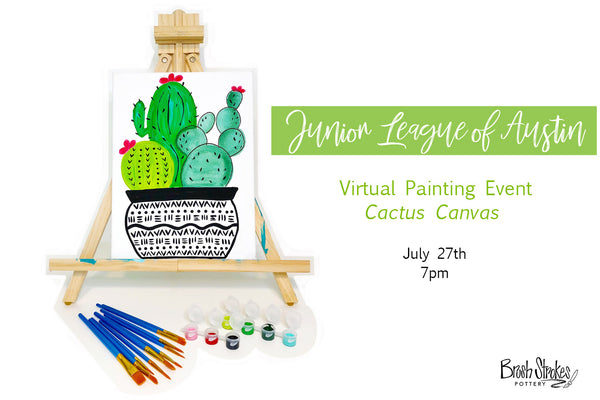 PRIVATE PARTY -  Jr. League of Austin - Virtual Paint Event