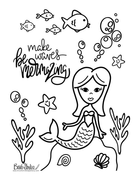 Under the Sea Coloring Activity Bundle