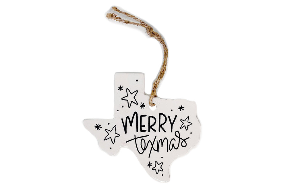Merry Texas Christmas Ornament