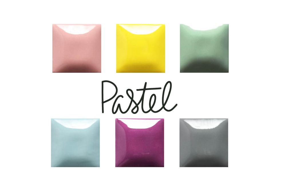 Paint Color Palettes - Ceramic Glazed To Go