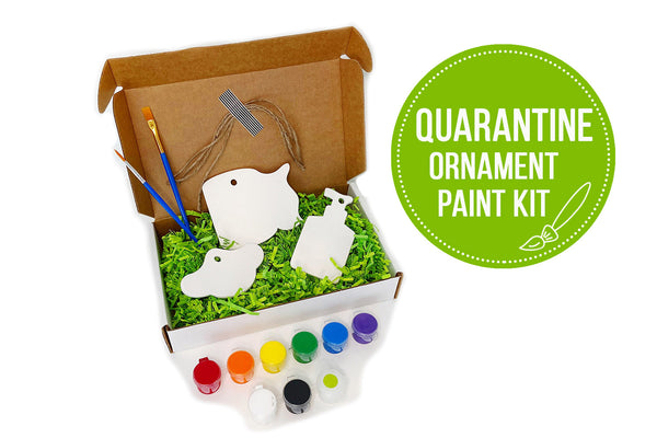 Quarantine Keepsake Ornament Paint Kit