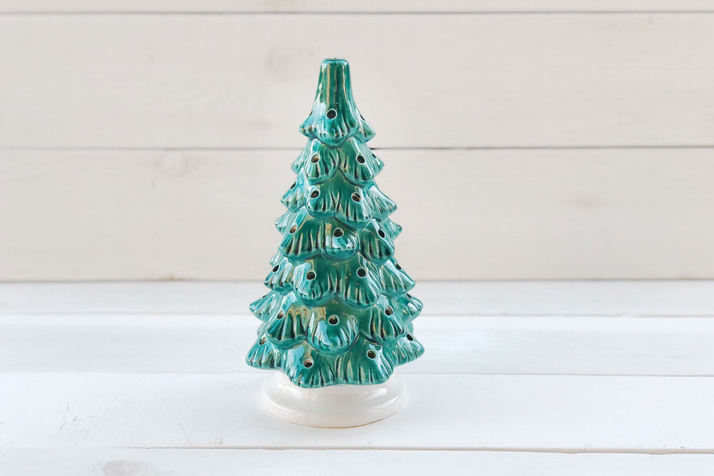 Vintage Christmas Tree - Emerald Green