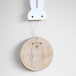 Scandi Wall Plaque (Tres Collective & Frankie and Co Collaboration)