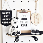 Skate Eat Sleep Repeat Banner