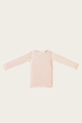 Jamie Kay Maddison Top - Peach Stripe