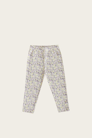 Jamie Kay Organic Cotton Leggings - summer floral