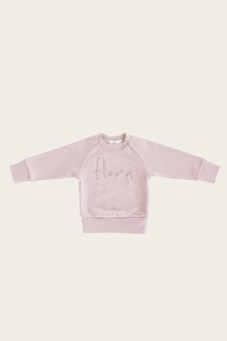 Jamie Kay - Old Rose - FLORA SWEATSHIRT