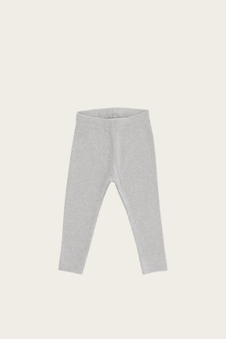 Jamie Kay - Organic Essential Leggings - Light Grey Marle