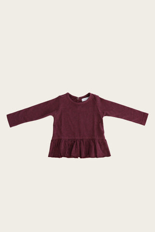 Jamie Kay - Bailey Top, Plum