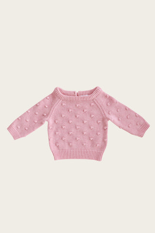 Jamie Kay - DOTTY KNIT- MARSHMELLOW MARLE