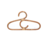 Single Swirl Rattan Hanger
