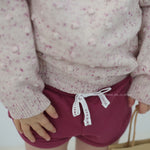 Jamie Kay - Dotty Knit, Raspberry Fleck