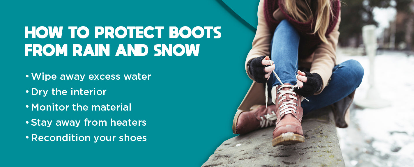 protect boots from rain and snow