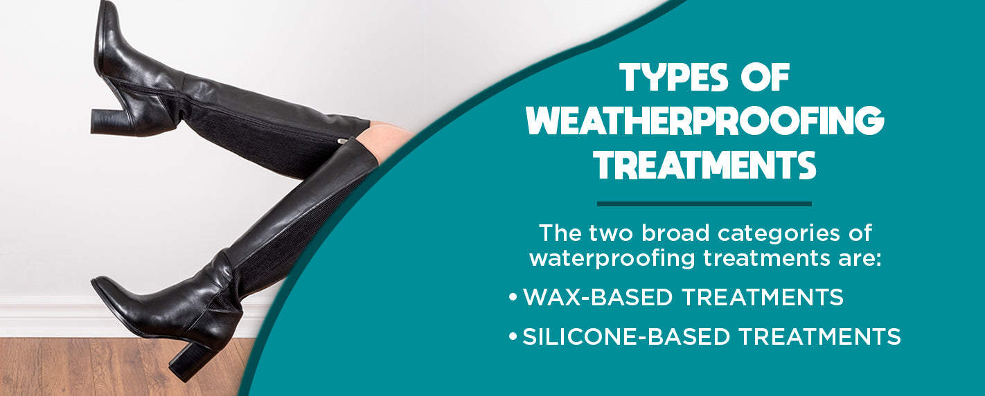 types of weatherproofing treatments