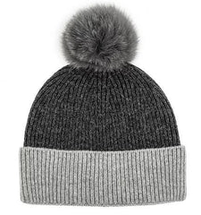 2 Toned Knit Hat