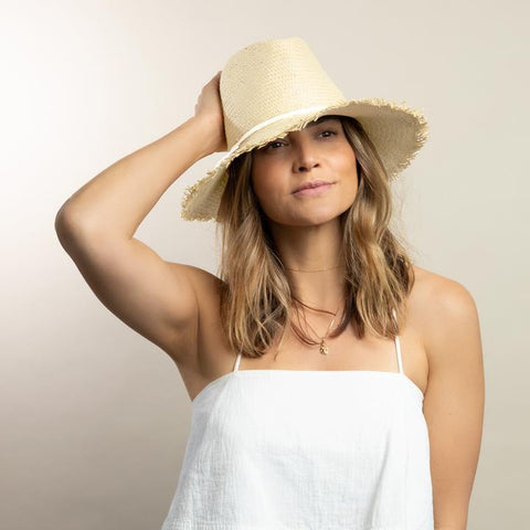 Fringe Travel Hat