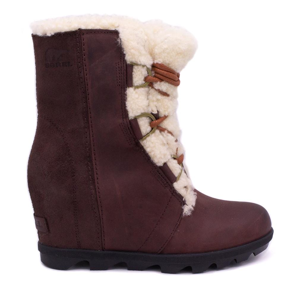 Joan of Arctic Wedge Shearling