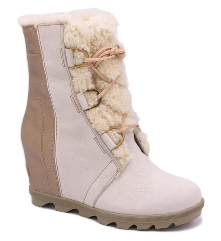 Joan of Arctic Lux Wedge Shearling