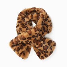 Leopard Fur Key Hole Scarf (4335719055457)
