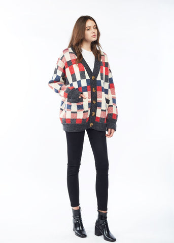 Chess Cardigan