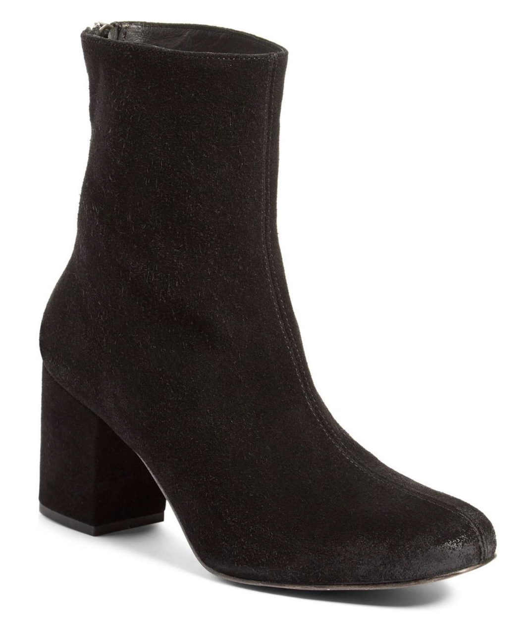9f059607e5b6b Free People  Cecile Ankle Boot Black Velvet