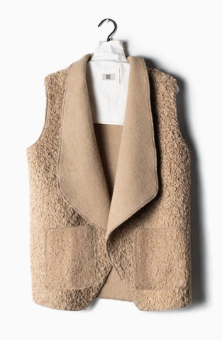 Fleece Teddy Vest