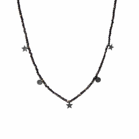 Star/Circle Charm Necklace