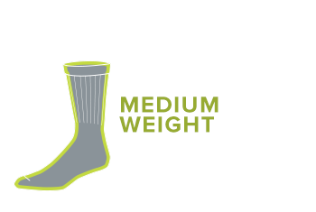 MEDIUM WEIGHT CUSHION socks
